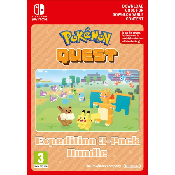 Pokémon Quest Expedition 3-Pack Nintendo Switch Digital Download