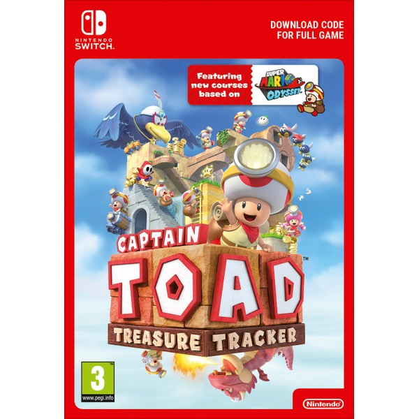 Captain Toad: Treasure Tracker Nintendo Switch Digital Download