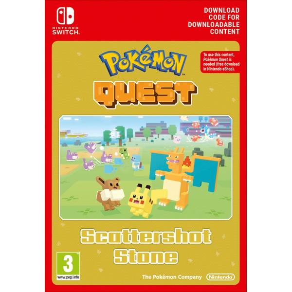 Pokémon Quest Scattershot Stone Nintendo Switch Digital Download