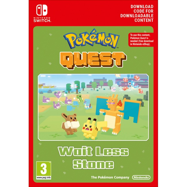 Pokémon Quest Stay Strong Stone Nintendo Switch Digital Download