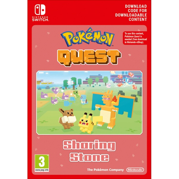 Pokemon Quest Sharing Stone Nintendo Switch Digital Download