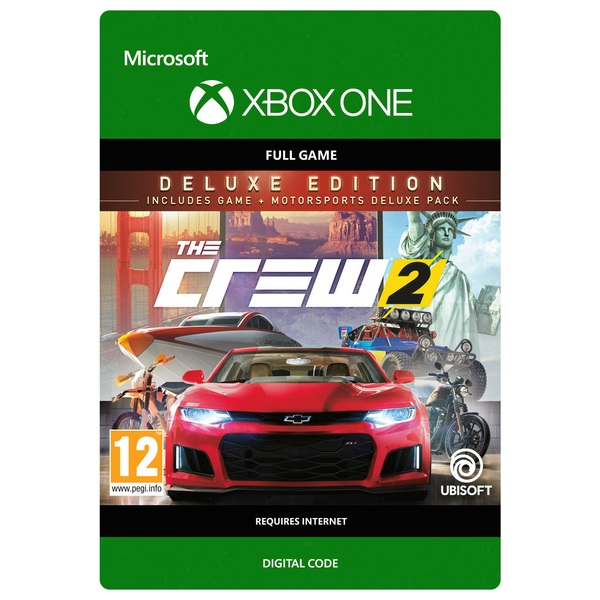 The Crew 2: Deluxe Edition Xbox One Digital Download