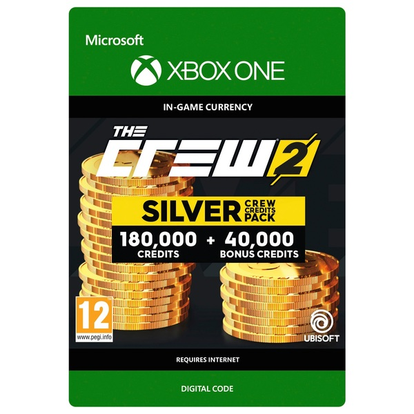 The Crew 2: Silver Crew Credits Pack Xbox One Digital Download