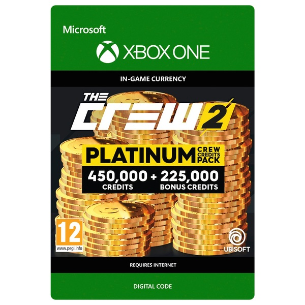 the crew 2 platinum crew credits pack xbox one digital. Black Bedroom Furniture Sets. Home Design Ideas