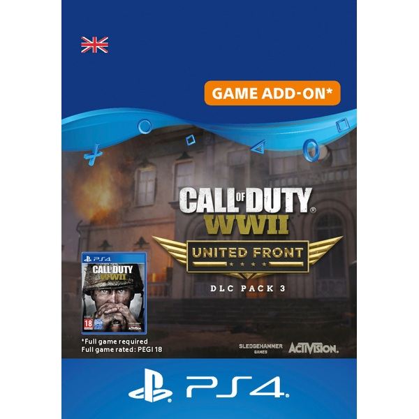 Call of Duty: WWII - The United Front: DLC Pack 3 PS4 Digital Download