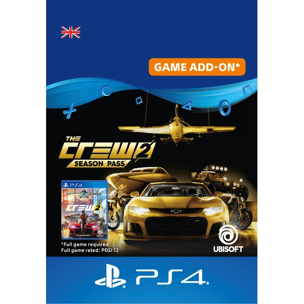 The Crew 2: Season Pass PS4 Digital Download