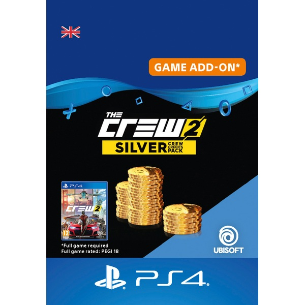 The Crew 2: Silver Crew Credits Pack PS4 Digital Download