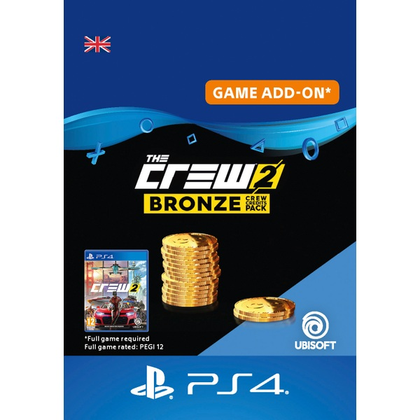 The Crew 2: Bronze Crew Credits Pack PS4 Digital Download