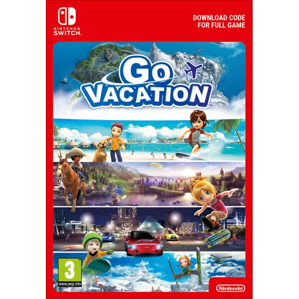 Go Vacation Nintendo Switch Digital Download