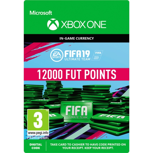 FIFA 19: Ultimate Team FIFA Points 12000 (Xbox One Digital Download)