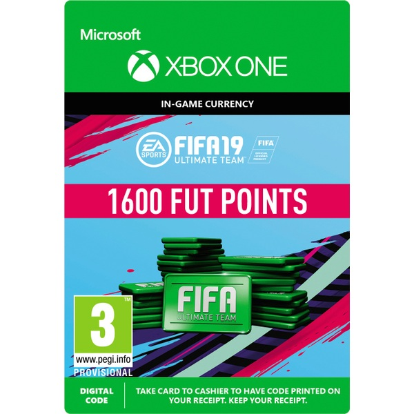 FIFA 19: Ultimate Team FIFA Points 1600 (Xbox One Digital Download)
