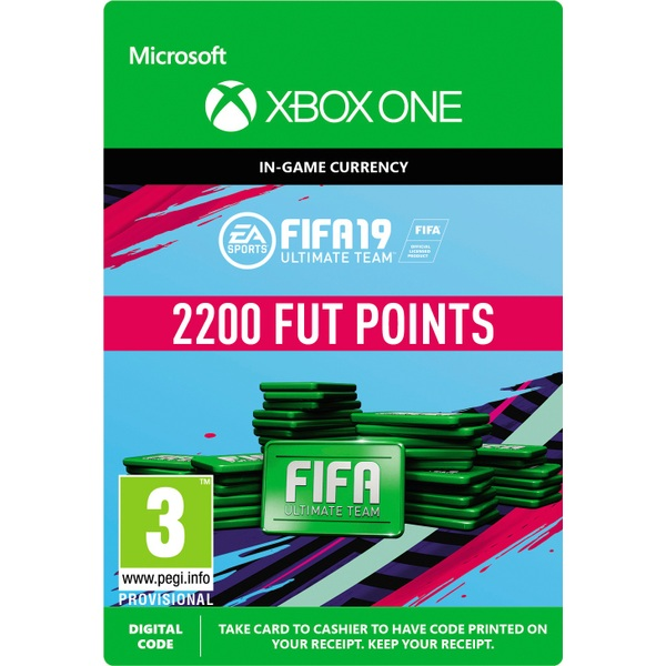 FIFA 19: Ultimate Team FIFA Points 2200 (Xbox One Digital Download)