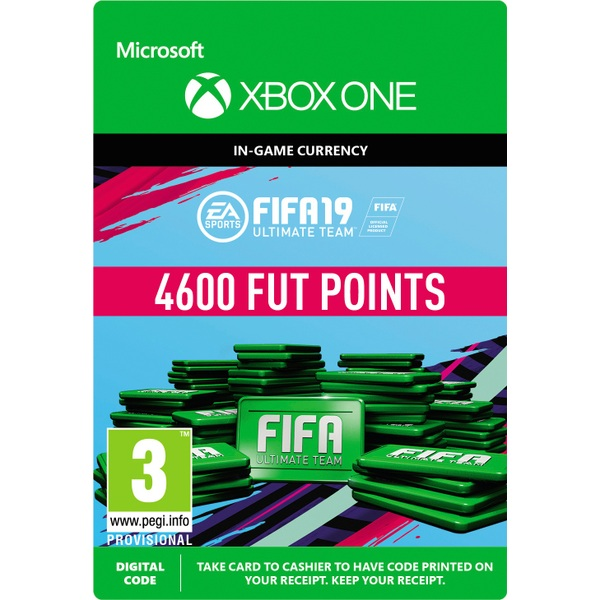 FIFA 19: Ultimate Team FIFA Points 4600 (Xbox One Digital Download)