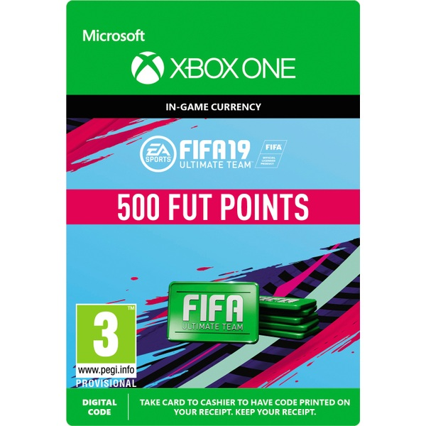 FIFA 19: Ultimate Team FIFA Points 500 (Xbox One Digital Download)