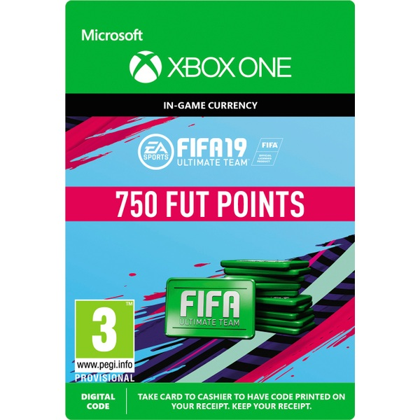 FIFA 19: Ultimate Team FIFA Points 750 (Xbox One Digital Download)