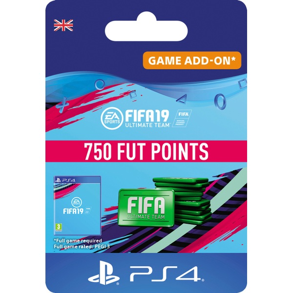 FIFA 19: Ultimate Team FIFA Points 750 (PS4 Digital Download)