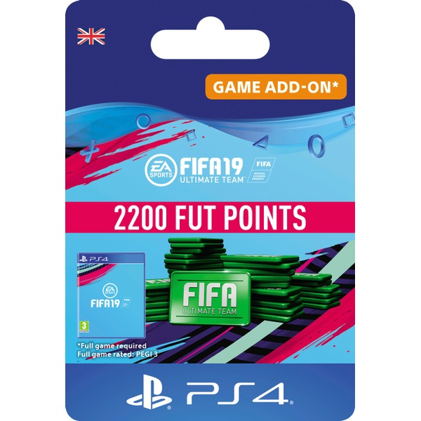 FIFA 19 Ultimate FIFA Points 2200 (PS4 Digital Download)