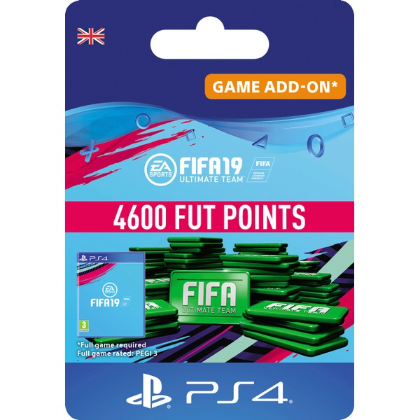 FIFA 19 Ultimate FIFA Points 4600 (PS4 Digital Download)
