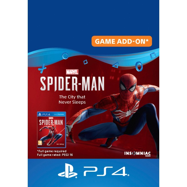 Marvel's Spider-Man: The City that Never Sleeps (PS4 Digital Download)