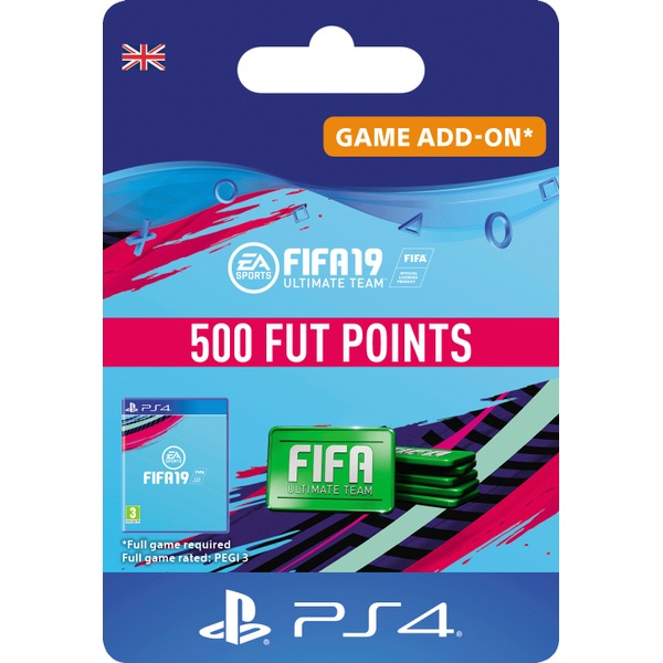 FIFA 19: Ultimate Team FIFA Points 500 (PS4 Digital Download)