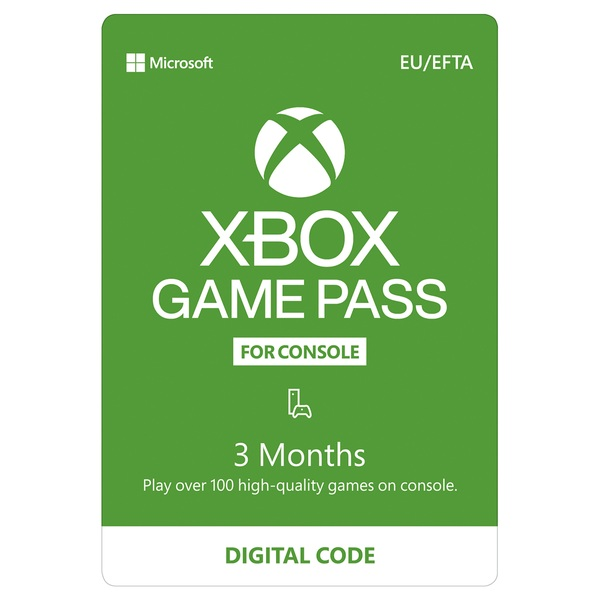 Xbox 3 Month Game Pass