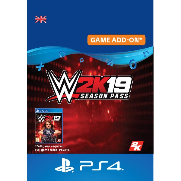 WWE 2K19 Season Pass PS4 (Digital Download)