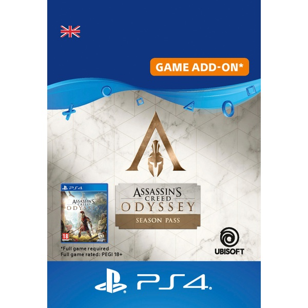 Assassin's Creed® Odyssey - Season pass PS4 (Digital Download)