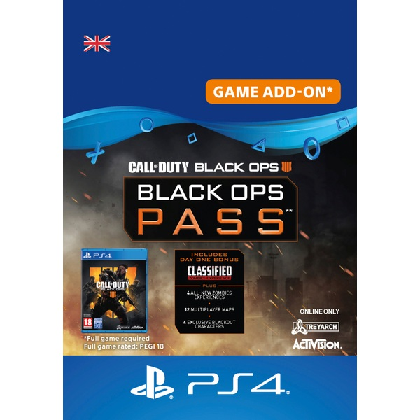 Call of Duty®: Black Ops 4 - Black Ops Pass PS4 (Digital Download)