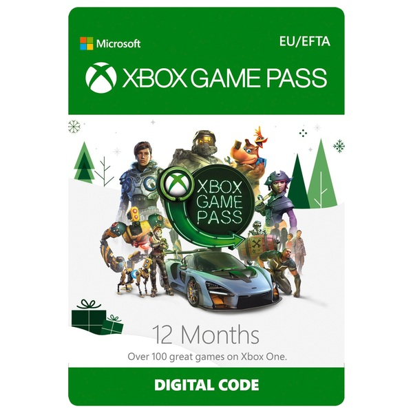 Xbox 12 Months Game Pass