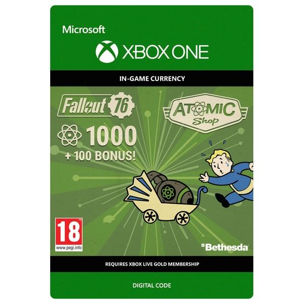 Fallout 76: 1000 (+100 Bonus) Atoms Xbox One (Digital Download)