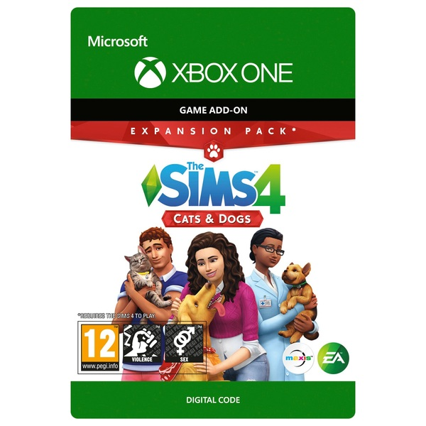 The Sims 4 Cats and Dogs Xbox One (Digital Download)