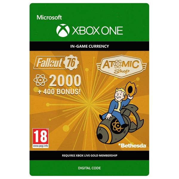 Fallout 76: 2000 (+400 Bonus) Atoms Xbox One (Digital Download)