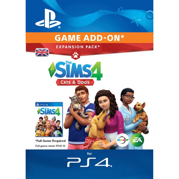 The Sims™ 4 Cats & Dogs PS4 (Digital Download)