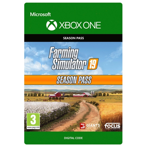 Farming Simulator 19 Season Pass Xbox One (Digital Download)