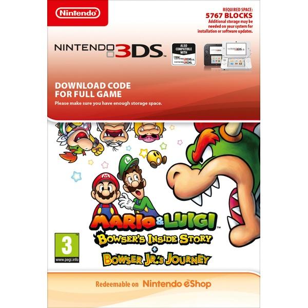 Mario & Luigi: Bowser's Inside Story + Bowser Jr.'s Journey Nintendo 3DS (Digital Download)
