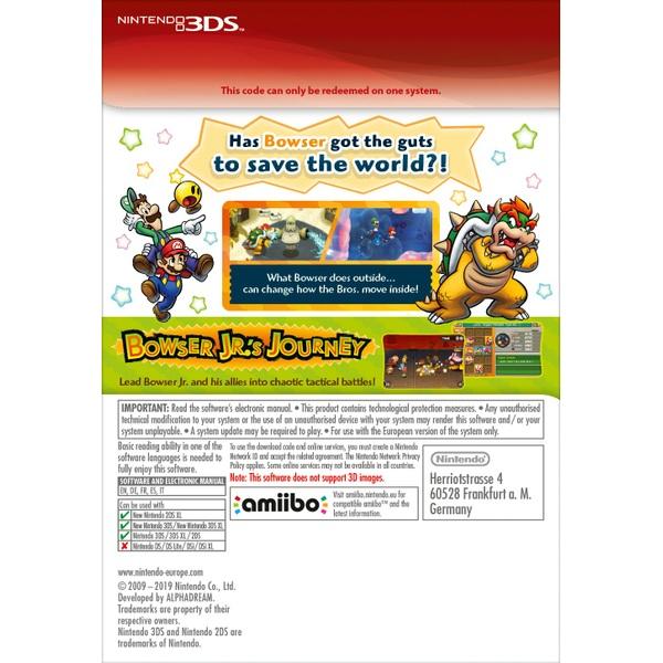 Mario Luigi Bowser S Inside Story Bowser Jr S Journey Nintendo 3ds Digital Download Smyths Toys Ireland