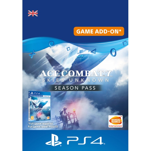 Ace Combat 7: Skies Unknown Season Pass PS4 (Digital Download)