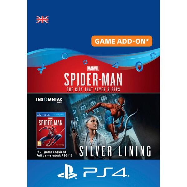 Marvel's Spider-Man: Silver Lining - PS4 (Digital Download)