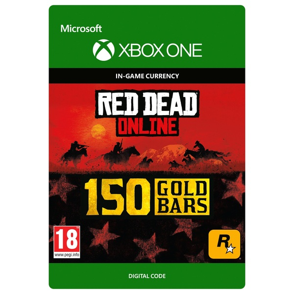 Red Dead Redemption 2: 150 Gold Bars - Xbox One (Digital Download)