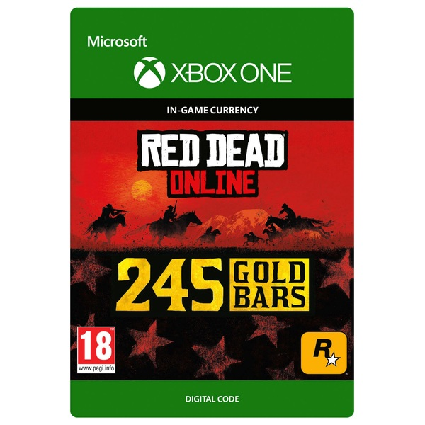 Red Dead Redemption 2: 245 Gold Bars - Xbox One (Digital Download)