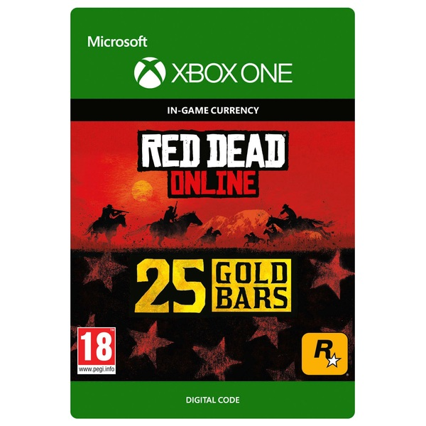 Red Dead Redemption 2: 25 Gold Bars - Xbox One (Digital Download)