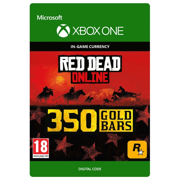 Red Dead Redemption 2: 350 Gold Bars - Xbox One (Digital Download)
