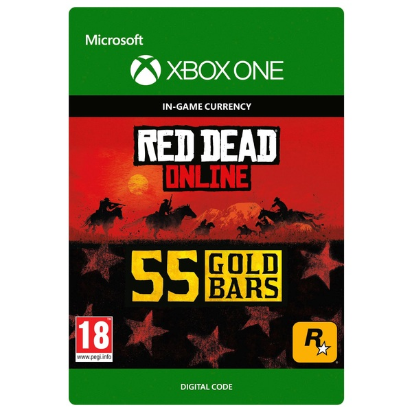 Red Dead Redemption 2: 55 Gold Bars - Xbox One (Digital Download)