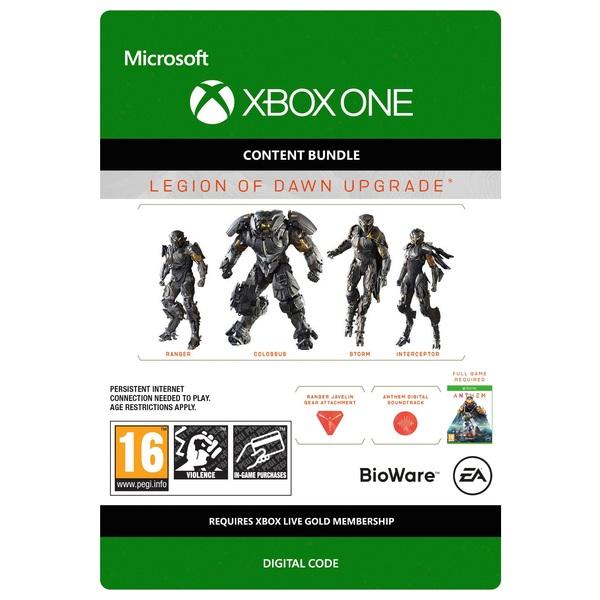 Anthem: Legion Of Dawn Upgrade - Xbox One (Digital Download)