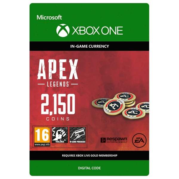 Apex Legends: 2150 Apex Coins - Xbox One (Digital Download)