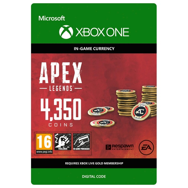 Apex Legends: 4350 Apex Coins - Xbox One (Digital Download)