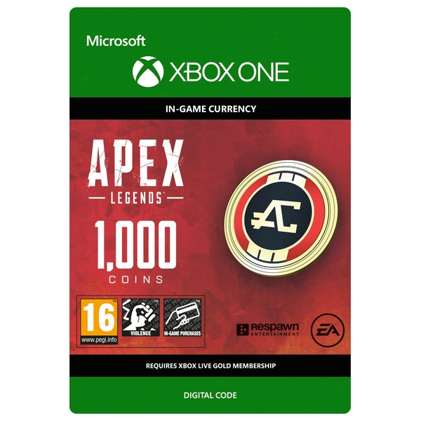 Apex Legends: 1000 Apex Coins - Xbox One (Digital Download) - Apex Legends  Coins Ireland