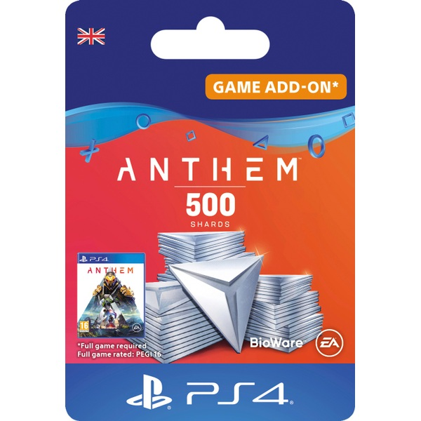 Anthem™ 500 Shards Pack - PS4 (Digital Download)