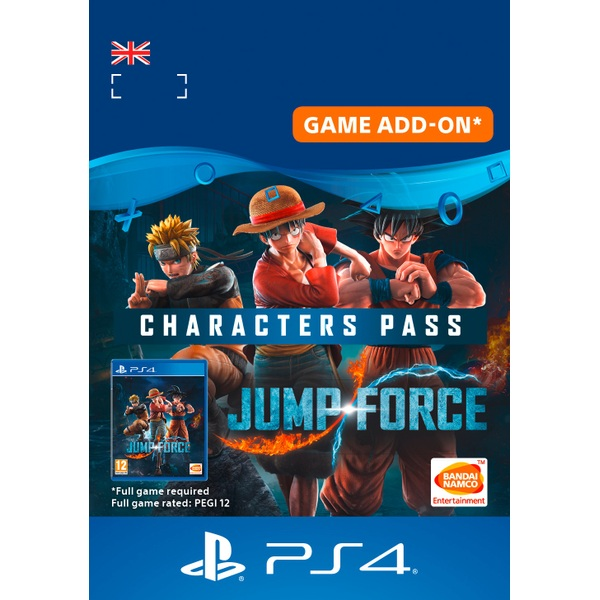 Jump Force: Characters Pass - PS4 (Digital Download)