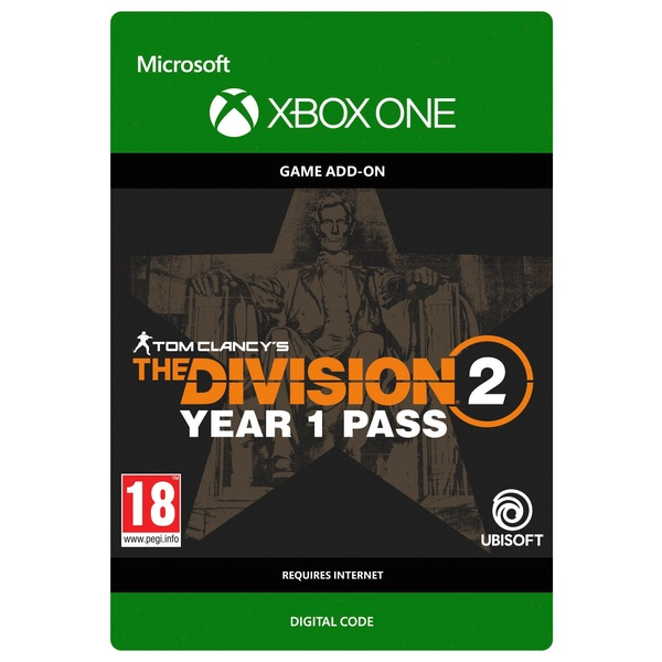 Tom Clancy's The Division 2: Year 1 Pass - Xbox One (Digital Download)
